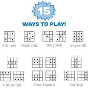 information for the Numbers Bingo game - rules