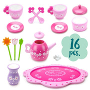 Pink Blossoms Tea Set for Two parts and pieces