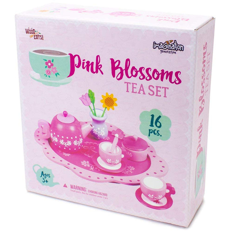 Pink Blossoms Tea Set for Two box packaging