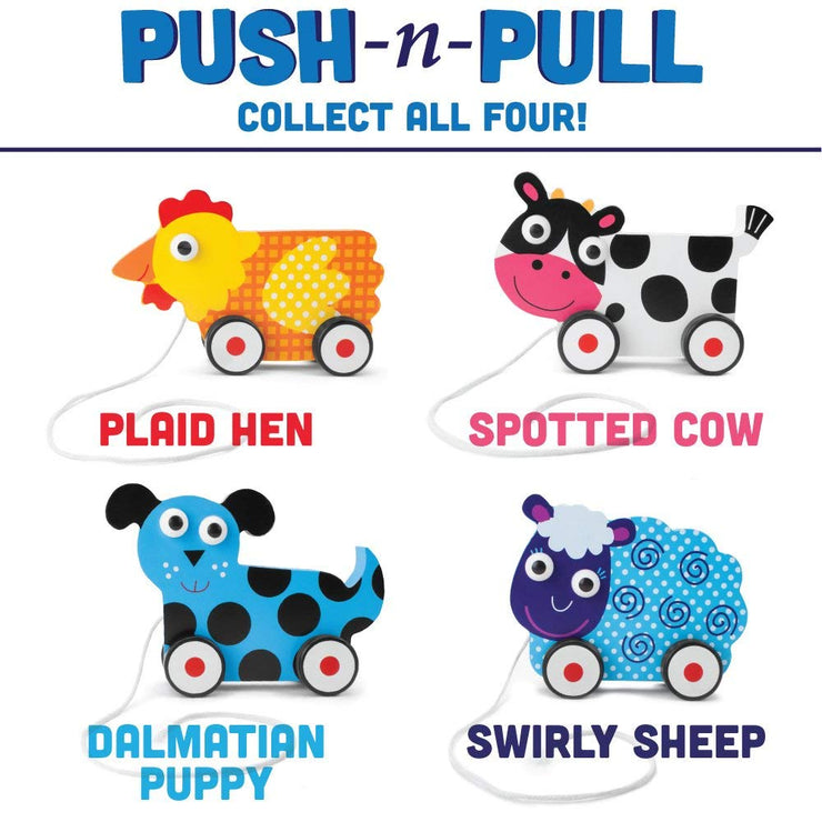 four options for the push'n'pull walkers
