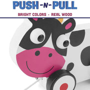 Push-n-Pull Spotted Cow
