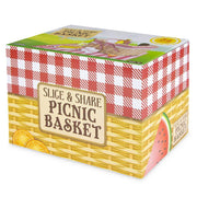 wood eats slice and share picnic basket box packaging