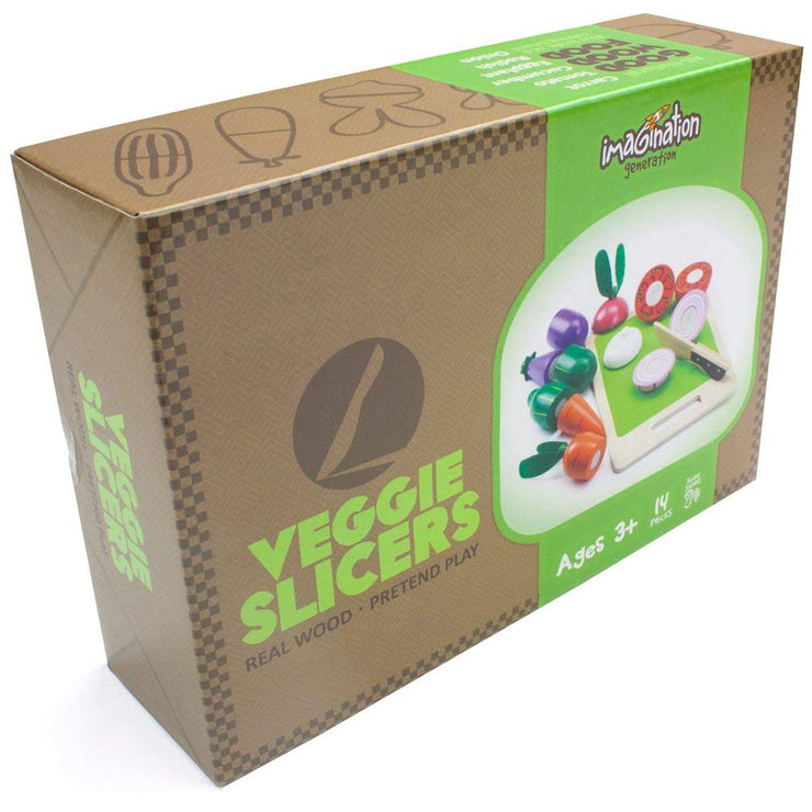 wood eats veggie slicer box packaging