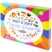 Zoey & Joey Magnetic Dress-up Playset box packaging on white backing