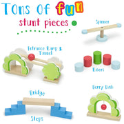 five examples of zoo pals dominoes - tons of fun text