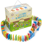 zoo pals dominoes with box packaging