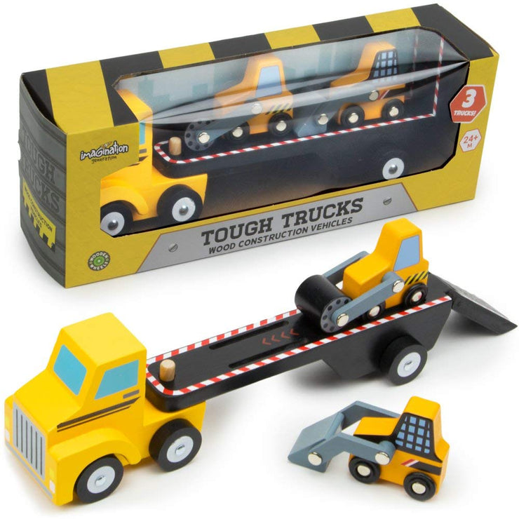 box packaging for Tough Trucks Construction Vehicles set