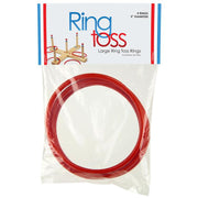 "Large Ring Toss Rings 5"" -  4 Pack  packaging"