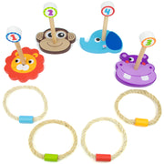 lion monkey hippo and elephant ring bases with four rings