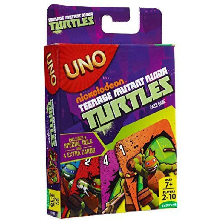 front view of UNO - Teenage Mutant Ninja Turtles Edition