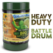 storage drum for the Tiny Troopers Big Battle Drum set