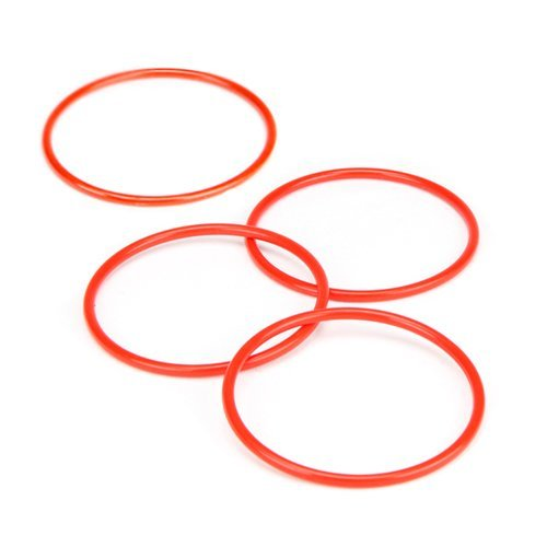 ring for the Ring Toss Game - Classic Wooden Set with 4 Plastic Rings  4
