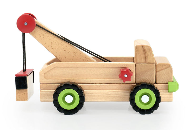 Guidecraft Block Science Big Tow Truck