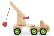 Guidecraft Block Science Big Wrecking Ball Truck