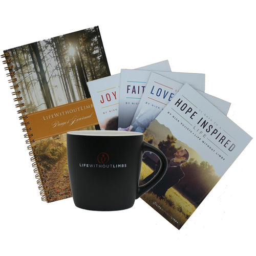 Coffee Mug-Devotional & Journal Set