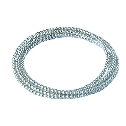 5 Ring Beaded Bangle