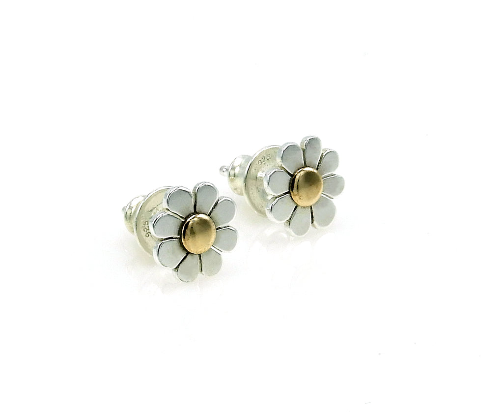 Small Daisy Post Earrings