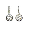 Round Champagne Earrings