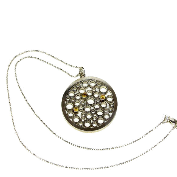 Round Champagne Necklace