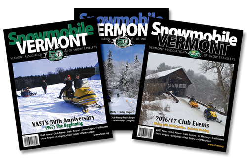 Snowmobile Vermont Magazine Subscription