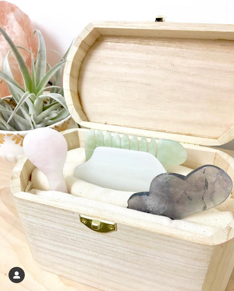 Wooden Gua Sha Box