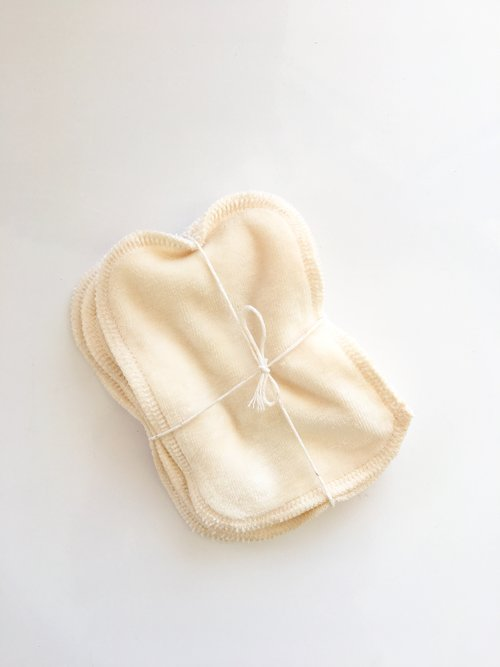 Bamboo Velour Facial Wipes