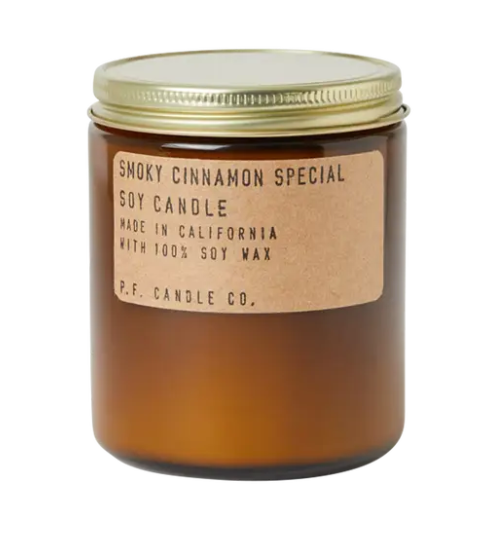 Smoky Cinnamon Special Standard Soy Candle - 7.2 oz