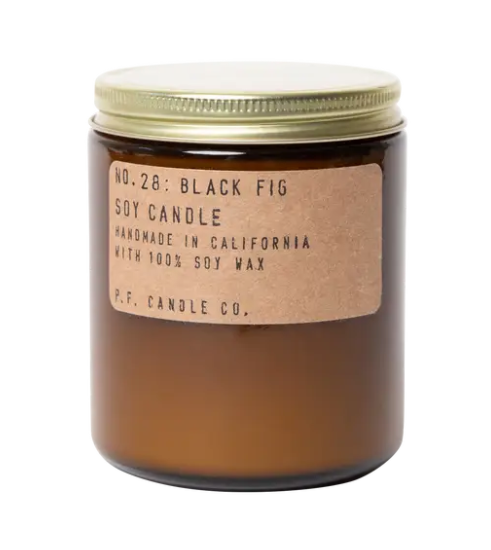 Black Fig Standard Soy Candle - 7.2 oz