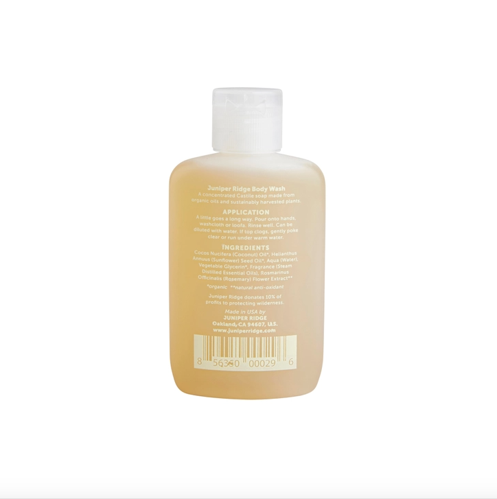 Cascade Forest Body Wash Travel 2oz