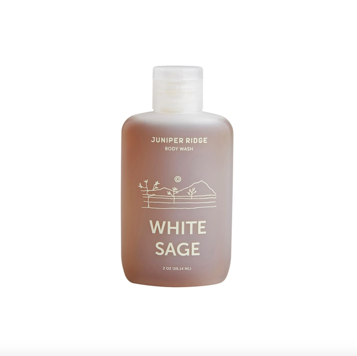 White Sage Body Wash Travel 2oz