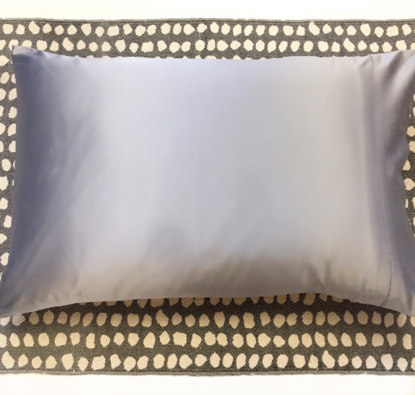 Charcoal Satin Pillowcases