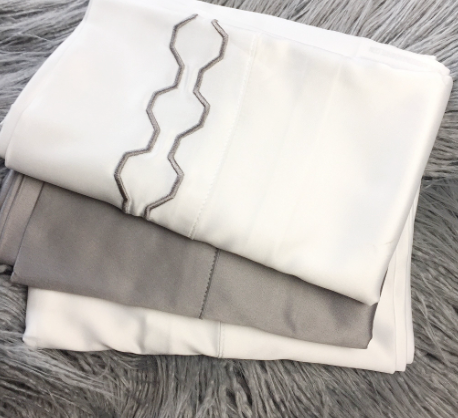 White Satin Pillowcases