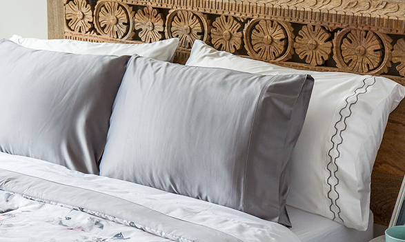 Laguna Modern Satin Pillowcases