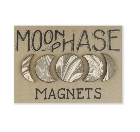Moon Phase Magnet Set