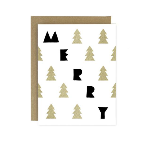 Merry Trees Holiday Card