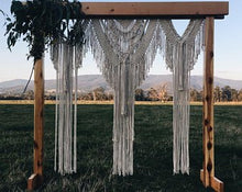 Load image into Gallery viewer, Macrame arbour hire