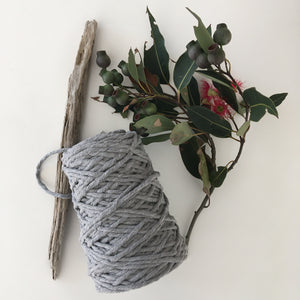 Soft Grey Cotton Rope