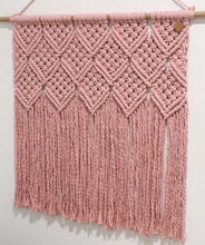 Load image into Gallery viewer, Soft Pink Claire Wall Hanging