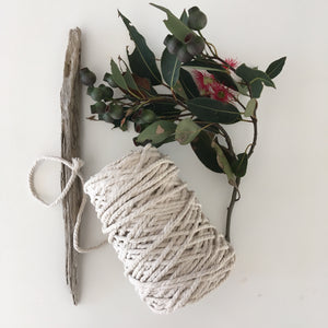 Cream Cotton Rope