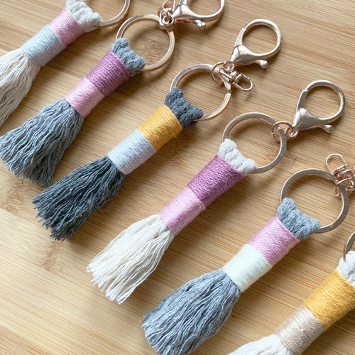 Multi ever so sweet keyring/ bag tag