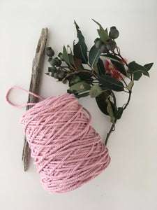 Pink Cotton Rope