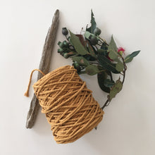 Load image into Gallery viewer, Mustard Cotton Rope