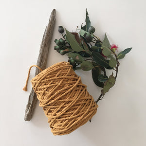Mustard Cotton Rope