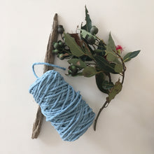 Load image into Gallery viewer, Blue Cotton Rope