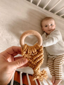 Personalised ever so sweet teethers
