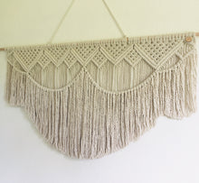 Load image into Gallery viewer, Ava | Wall hanging macrame | wall hanging macrame
