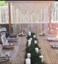 Load image into Gallery viewer, Rustic trestle table hire