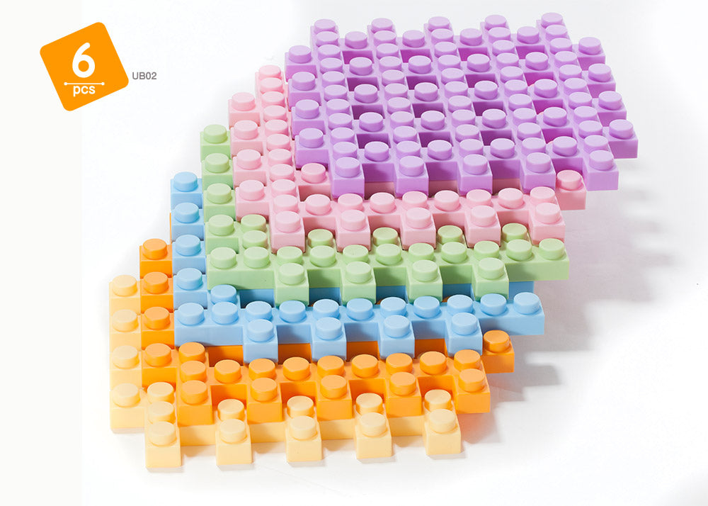 UNiPLAY Waffle Cube Play Blocks Big Cube Series (#UB02)