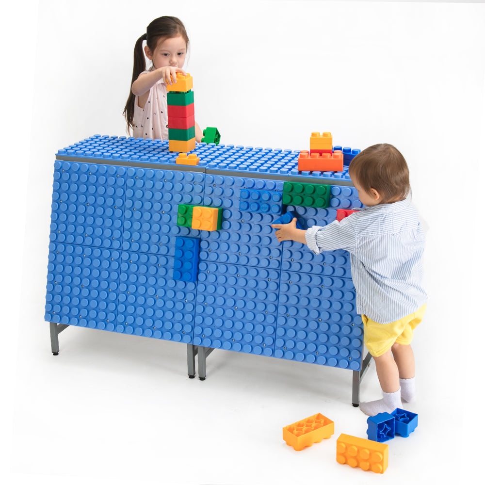 UNiPLAY Play Station Soft Building Blocks Building Base (Single Sided)(1 set a ctn)