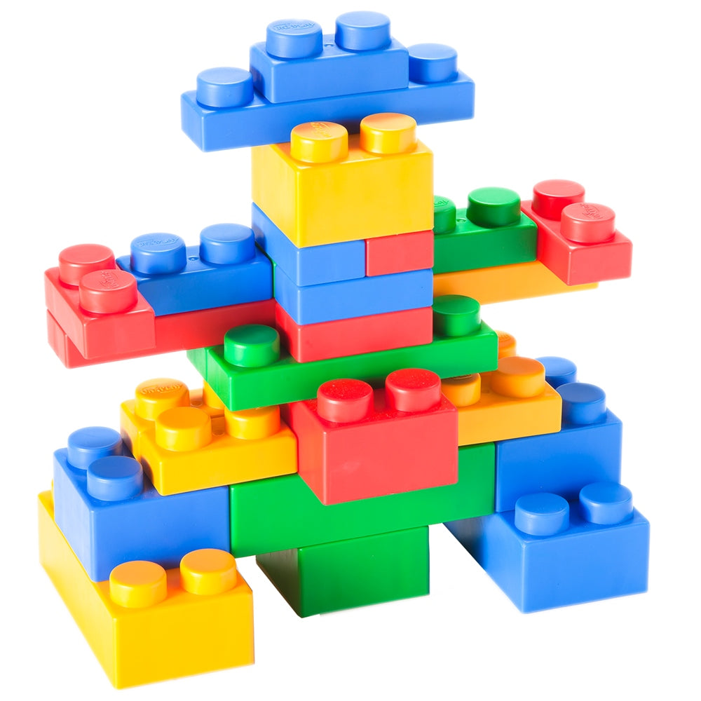 UNiPLAY Soft Building Blocks Mix Series 34pcs (#UN4034PR)